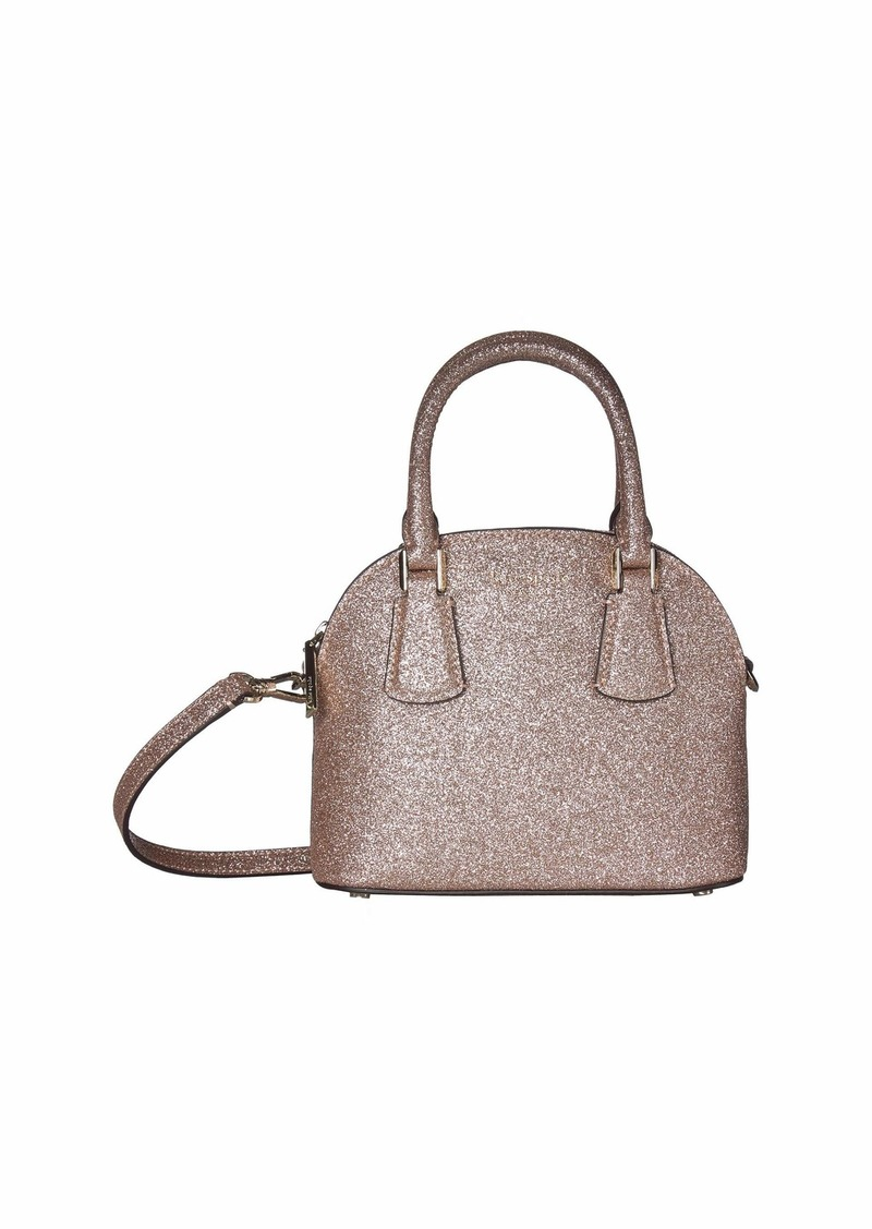 Kate Spade Sylvia Glitter Mini Dome Satchel