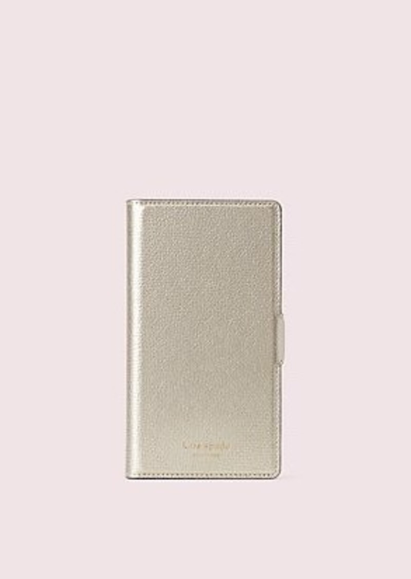 Kate Spade sylvia iphone x & xs magnetic wrap folio case