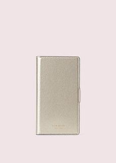 Kate Spade sylvia iphone x & xs magnetic wrap folio case