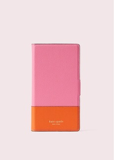 Kate Spade sylvia iphone xr magnetic wrap folio case