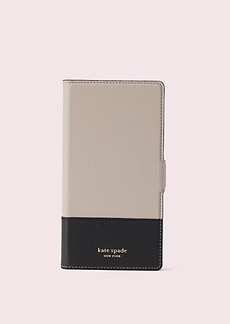 Kate Spade sylvia iphone xs max magnetic wrap folio case