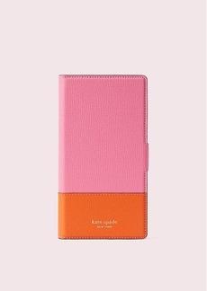 Kate Spade sylvia iphone xs max magnetic wrap folio case