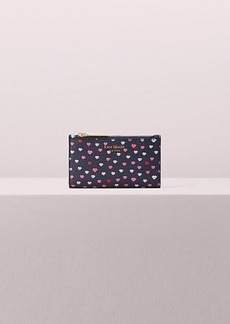 Kate Spade sylvia lips small slim bifold wallet