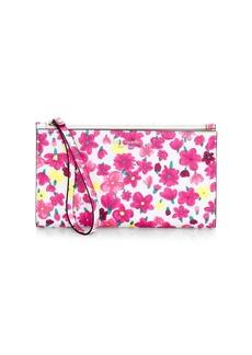Kate Spade Sylvia Marker Floral Wristlet Bag