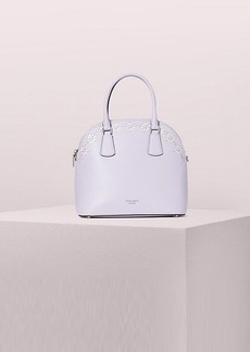 Kate Spade sylvia perforated large satchel
