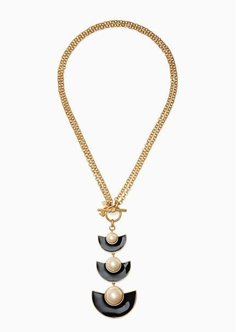 Kate spade taking shapes toggle pendant jewelry kate spade taking shapes toggle pendant aloadofball Gallery