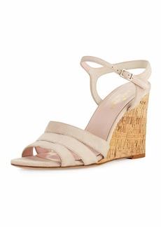 Kate Spade tamara cork wedge sandal