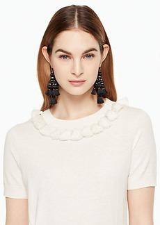 Kate Spade tassel sweater