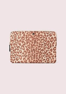 Kate Spade taylor leopard universal laptop sleeve