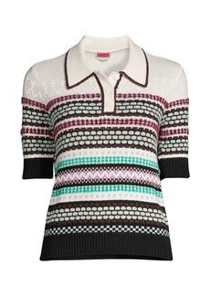 Kate Spade Textured Knit Polo