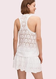 Kate Spade textured lace tank