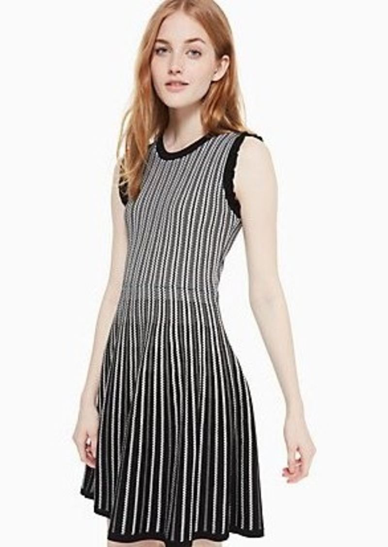Kate Spade textured sweater dress