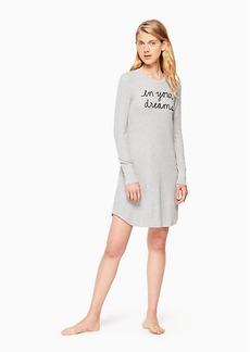Kate Spade thermal sleepshirt