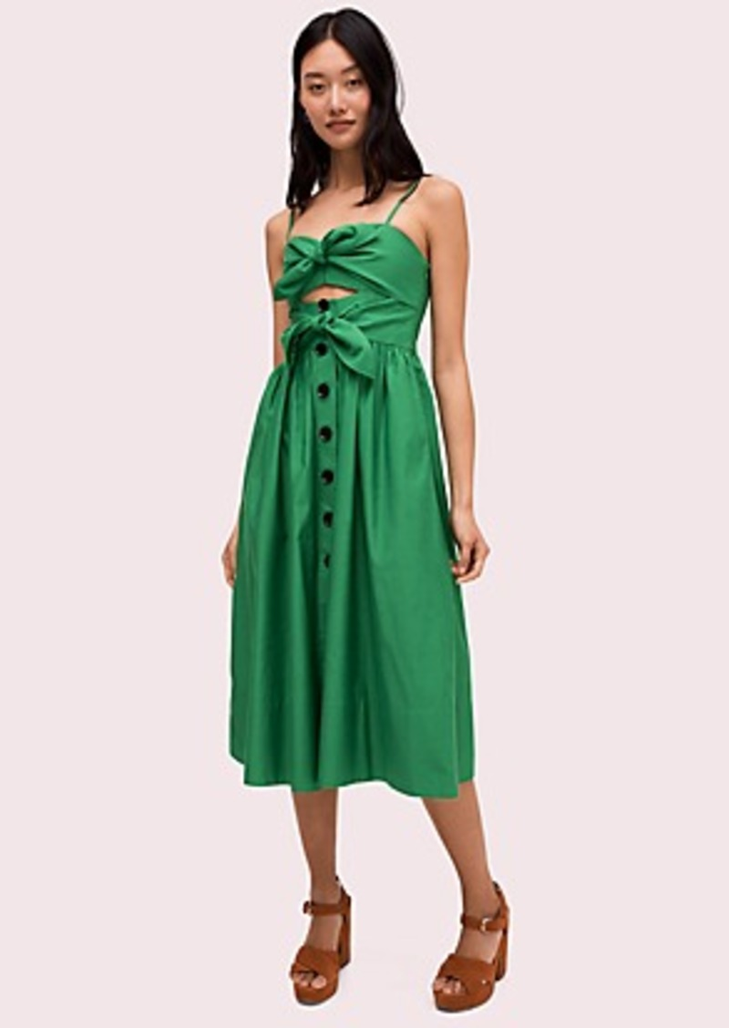 Kate Spade tie-front dress