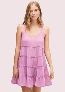 Kate Spade tiered cover-up dress