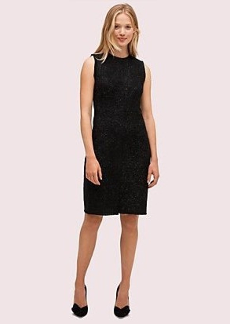 Kate Spade tinsel tweed dress