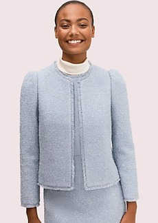 Kate Spade tinsel tweed jacket