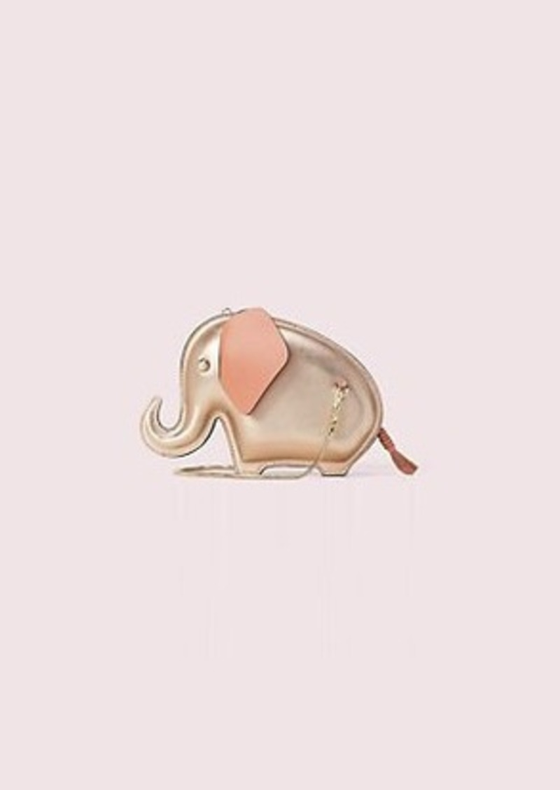 Kate Spade tiny elephant crossbody