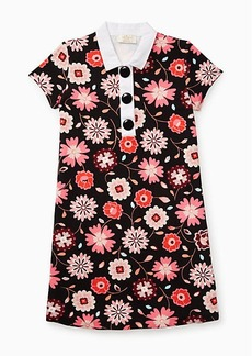 toddlers' collared shift dress