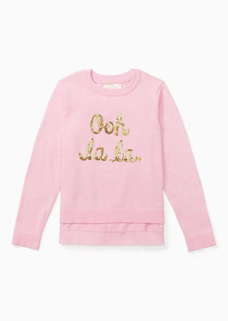 Kate spade toddlers ooh la la sweater sweaters kate spade toddlers ooh la la sweater publicscrutiny Choice Image