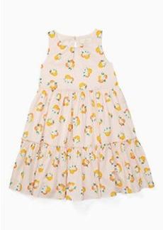 toddlers' orangerie midi dress