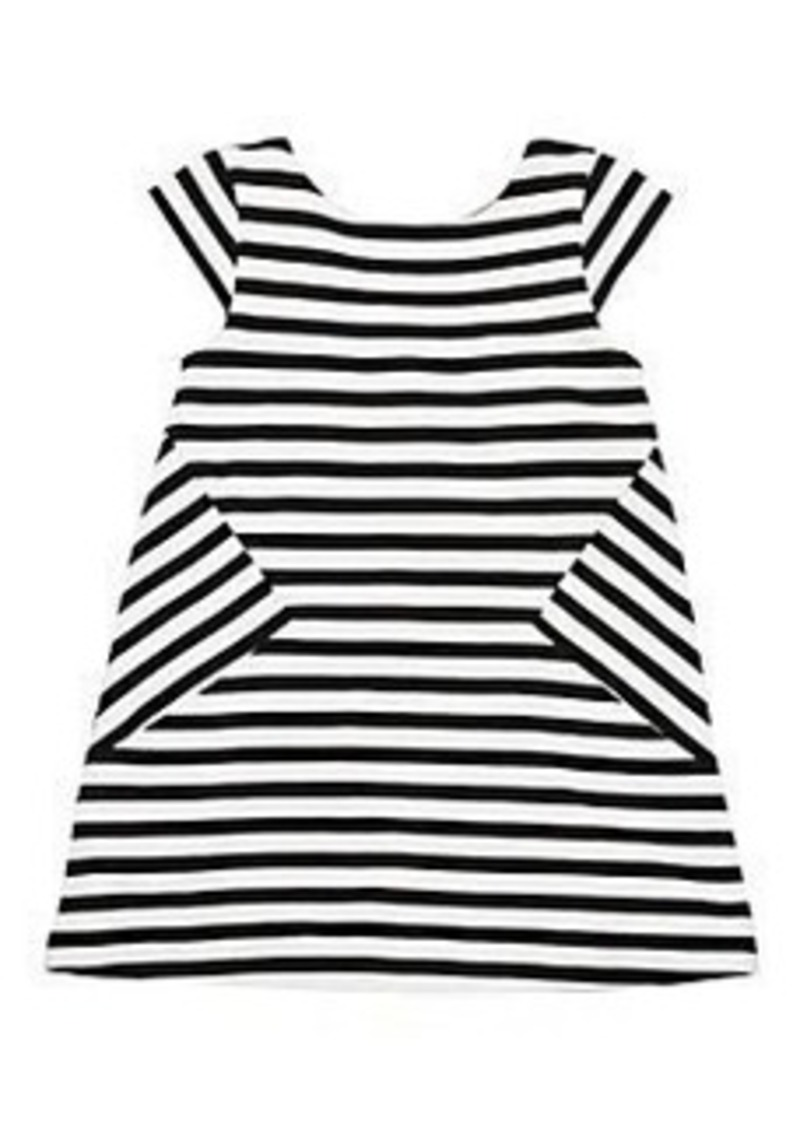 Kate Spade toddlers' stripe bow dress