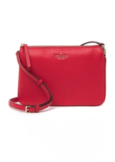 Kate Spade triple gusset leather crossbody bag