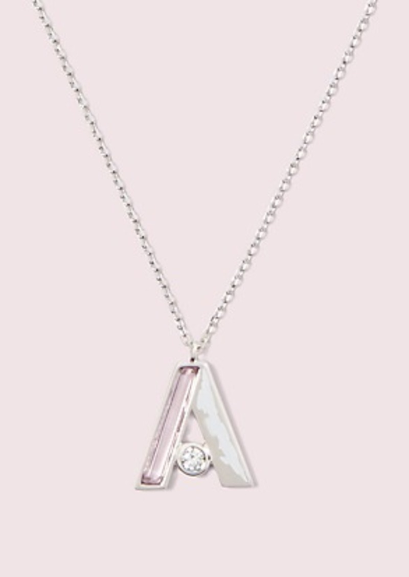 Kate Spade truly yours initial pendant