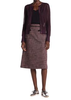 Kate Spade tweed midi skirt