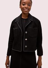 Kate Spade tweed pocket jacket