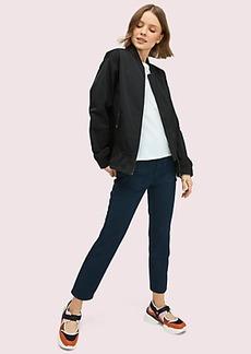 Kate Spade twill bomber jacket