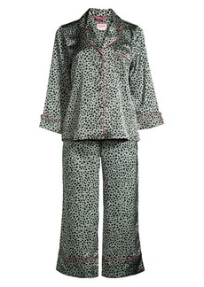 Kate Spade Two-Piece Cropped Pajama Set