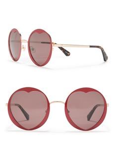 Kate Spade 55mm round sunglasses