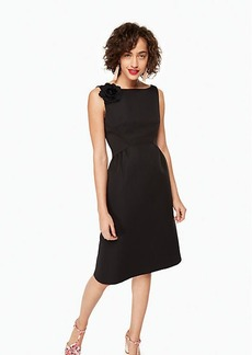 Kate Spade v-back structured dress