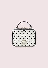 Kate Spade vanity cabana dot mini top-handle bag