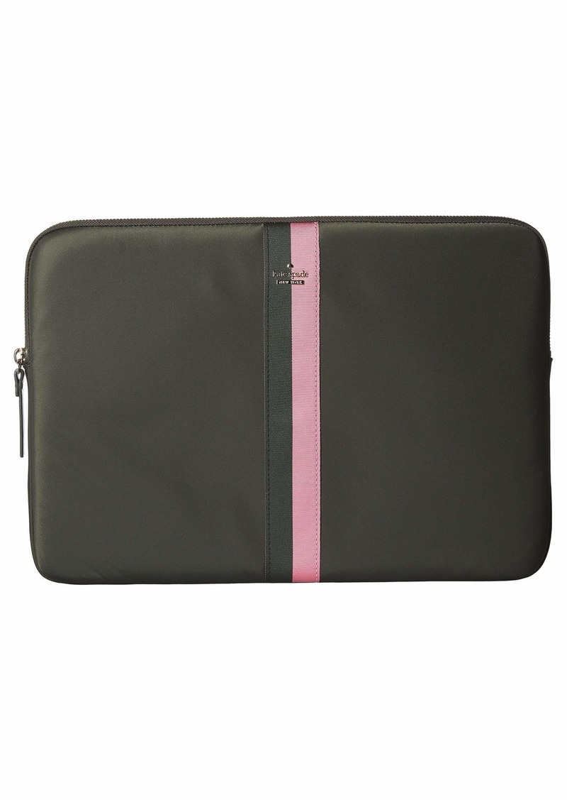 Kate Spade Varsity Stripe Nylon Universal Laptop Sleeve Laptop Cases