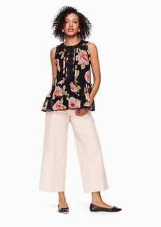 Kate Spade vintage bloom lauryn top
