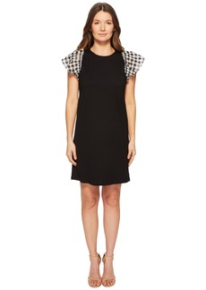 Kate Spade Voile Mixed Media Dress