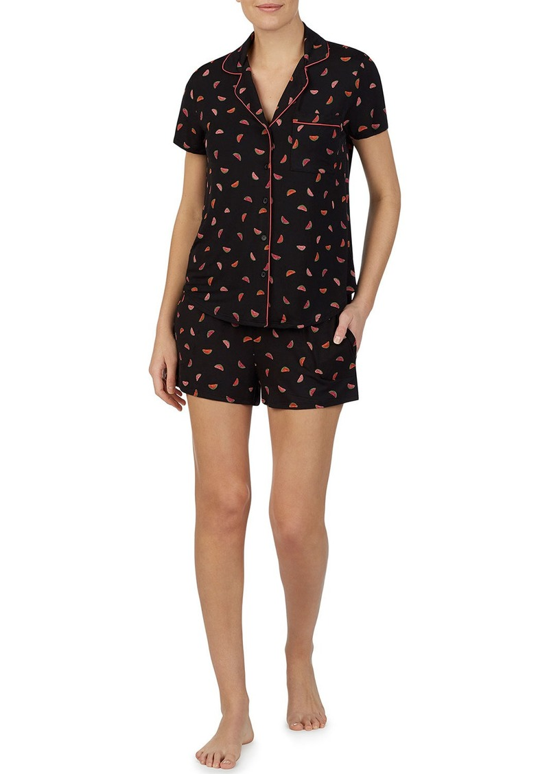 Kate Spade watermelon shorty pajama set