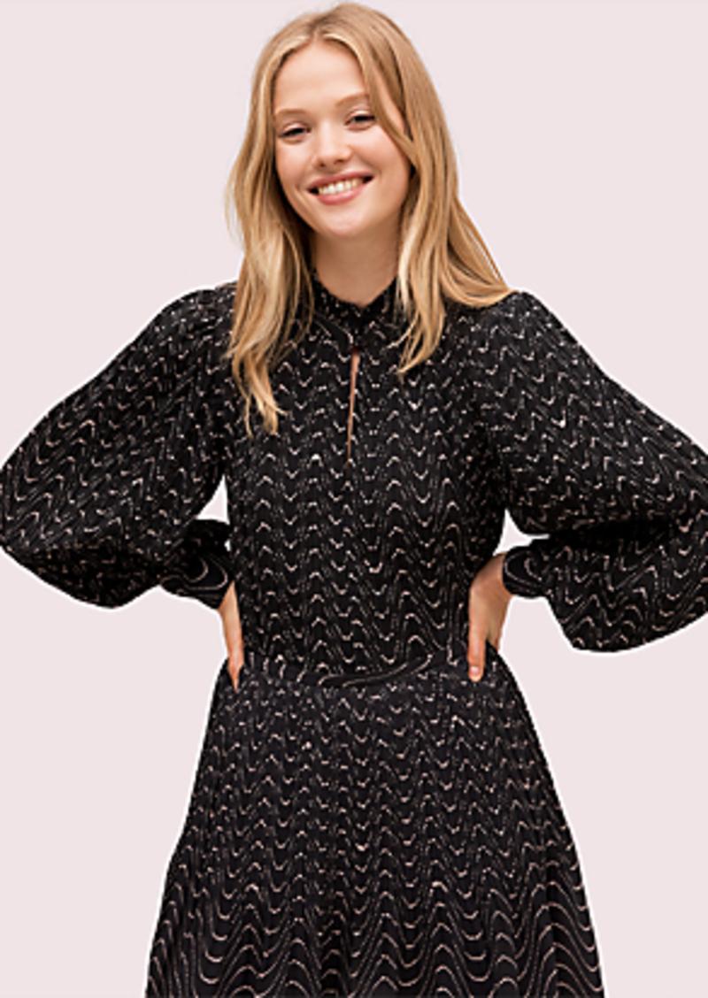 Kate Spade wavy dot blouse