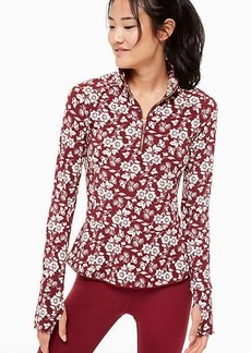 Kate Spade whimsy half-zip jacket