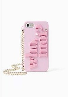Kate Spade who moi iphone 7 case