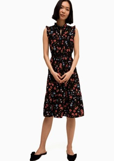Kate Spade wild ones meadow smocked waist dress