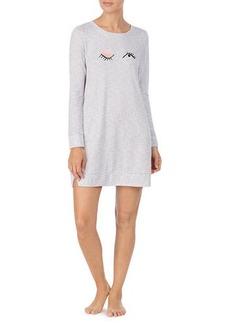 Kate Spade wink sweater-knit sleepshirt