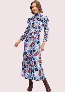 Kate Spade winter garden high neck dress