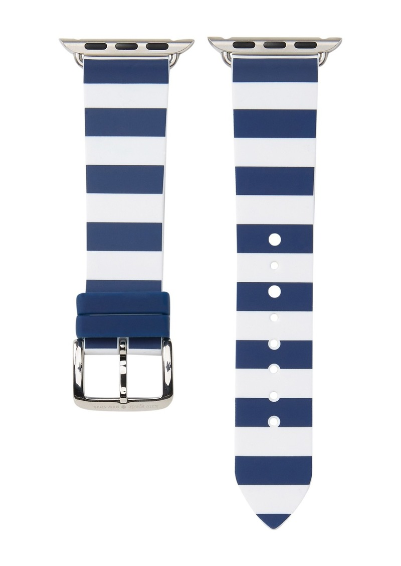 Kate Spade women's apple watch silicone strap, 38mm