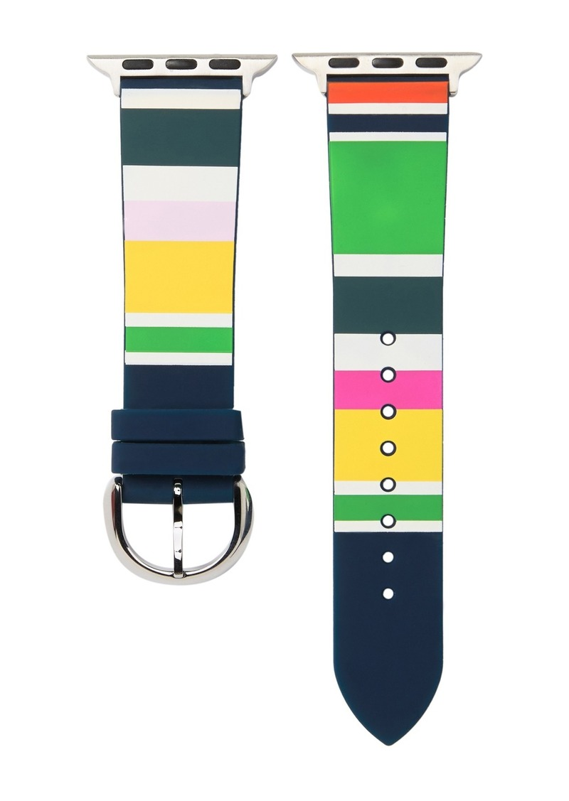 Kate Spade women's striped apple watch strap, 38mm