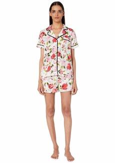 Kate Spade Woven Lawn Short Pajama Set