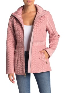 Kate Spade zip front quilted jacket