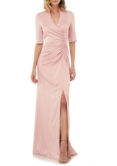 Kay Unger New York Kay Unger Ashley Ruched Gown